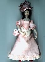 """Costumed Ladies (1"""" scale)"""