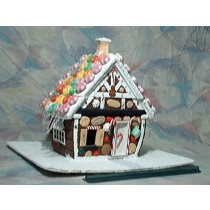 "Gingerbread House (1/2"" scale)"
